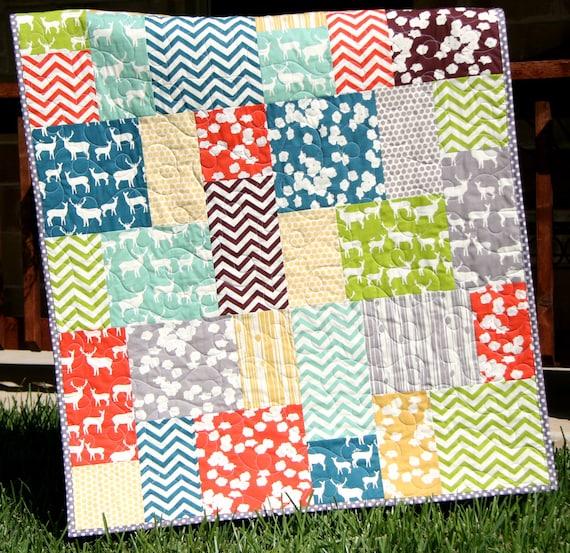 Big Block Quilt Pattern Big And Tall Fat Quarter Friendly