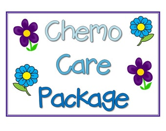Chemo Care Package Sign