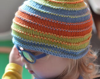 Colorful Elf Hat 6-12 months