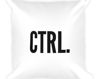 Ctrl. Throw Pillow