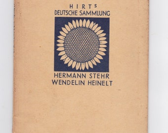 vintage hirts deutsche Sammlung German language book
