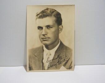 Vintage Photo, Silent Film Actor