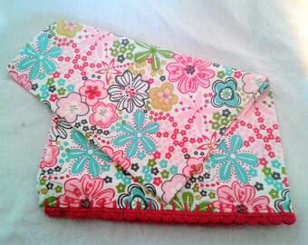 Tea Towel - Pink Floral