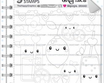 Lemon Stamp, 80%OFF, COMMERCIAL USE, Digi Stamp, Digital Image, Lemon Digistamp, Lemon Coloring Page, Summer Stamp, Summer Digital Stamp