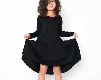Free Flow Dress - Black