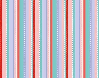 Riley Blake Princess Dreams, Princess Stripe Multi, C5495-MULTI, fabric by the yard