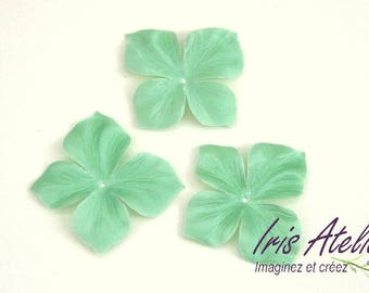 Silk Satin Fleur 1 unit almond Green