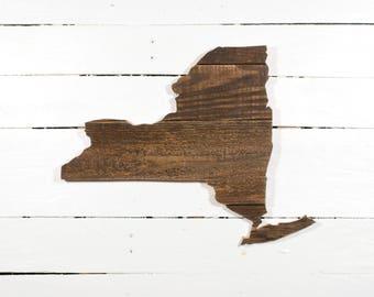 New York Pallet Wall Art