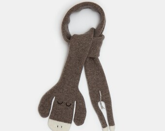 Childrens Donkey Lambswool Scarf - Made to order