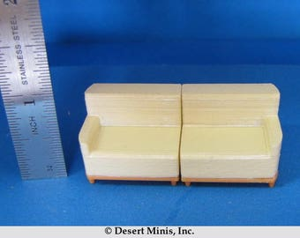 Quarter Scale 1950's Style (mid-century) Sectional Sofa (Main Pieces) Kit