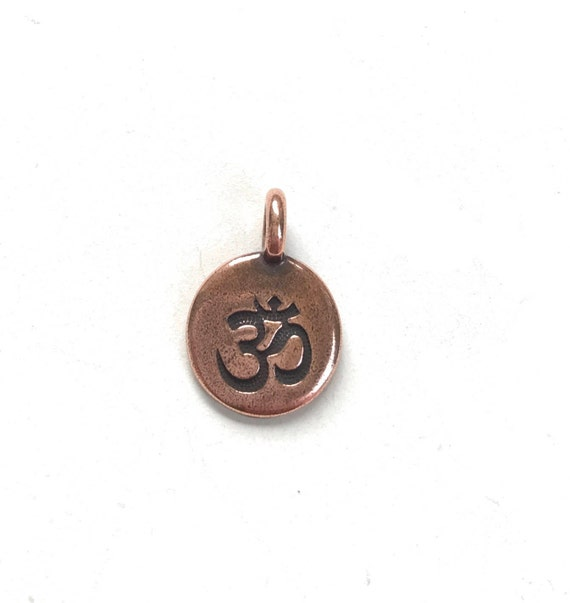 OM Charm, Charm For Mala Beads, Charm For Tassel On Mala Necklace
