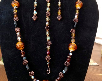 Safari style jewelry set