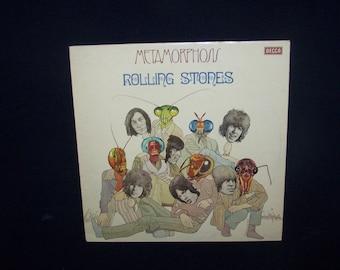 Original Vinyl LP - Metamorphosis - The Rolling Stones - 1975