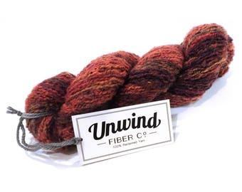 Self-striping Reclaimed Sweater Yarn (85% Acrylic / 15 Wool)