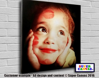 Your Photo on Canvas - Square