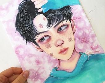 Sehun [LUCKY ONE] Original Artwork
