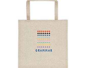 Montessori Grammar Symbols Tote bag