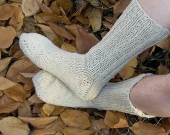 Set of Brown and Beige Socks EU 40-42, US 10-11