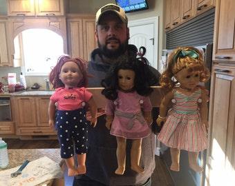 American Girl Wall Holder for Dolls