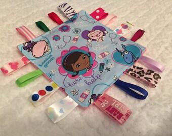 Doc McStuffins Baby Sensory Crinkle Toy
