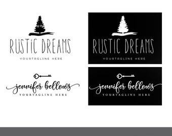logo watermark add on black and white set of your premade logo purchase