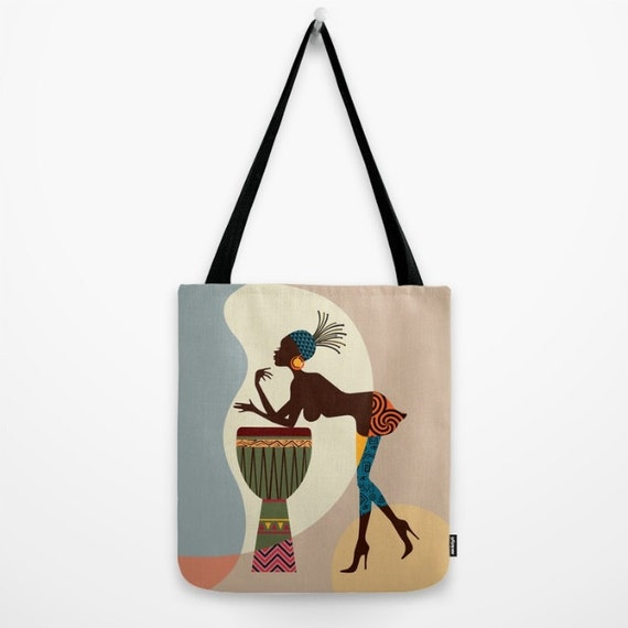 African Bag, Afrocentric, African Woman, Afro Girl,  African Gift, African Shop
