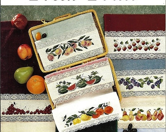 Fresh Fruit / Counted Cross Stitch Pattern Book No 2050
