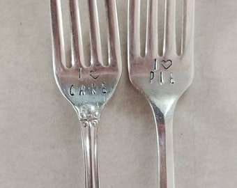 Antique stamped silverware-custom made.