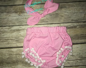 Pink Bloomers| Baby Bloomers| Toddler Bloomers| Kid Fashion|