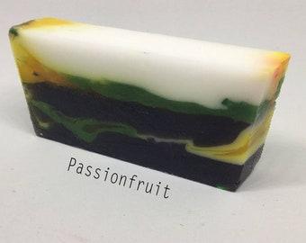 Glycerin soap - handmade soap - nz made soap - gift ideas - passionfruit soap - handmade soap - handcrafted soap - bar soap - natrual soap