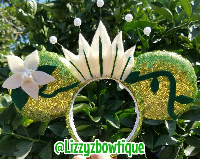 Princess Tiana Sequin Minnie Ears