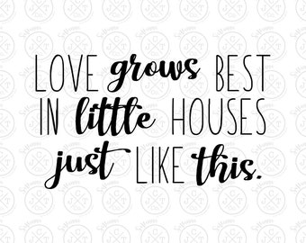 Download Love grows best | Etsy