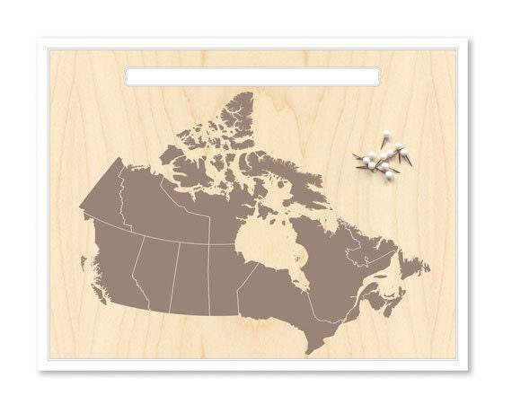 description cute grey canada map
