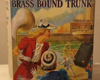 Nancy Drew - The Mystery of the Brass-Bound Trunk by Carolyn Keene in Dust Jacket