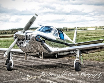 Swift, airplane art photo, aviation photography, pilot gift, airport scene, runway, vintage flying, boys room