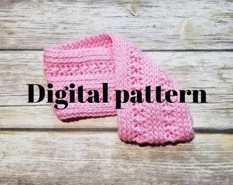 crochet headband pattern, textured headband, crochet pattern headband, womens headband, earwarmer pattern,