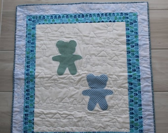 Baby blanket, custom colors to choose from