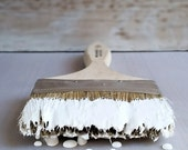 Handmade ChalkFinish Paint, White Picket Fence, French Country, French Decor, French Chair, Painted Furniture, French Linen, DIY Wood Decor