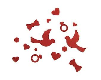 Wedding Table Confetti, Table Confetti, Romantic Table Confetti