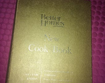 Book - Better Homes and Garden Cook Book Vintage