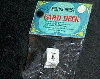 Miniature PLAYING CARD DECK