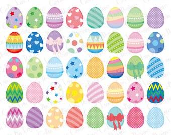 Easter Egg Clipart, Easter clip art (CG213)