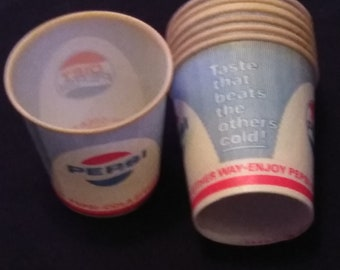 1930's Lily-Tulip 3 Oz Water Drinking Cups