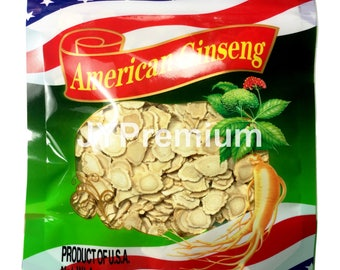 8oz - 100% Premium American Ginseng Slice, Hand Selected Grade A ~ Fast/Free Shipping!