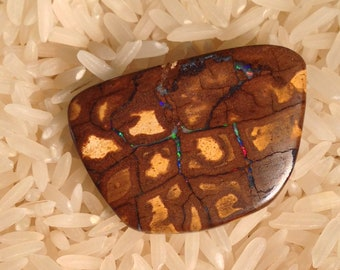 Beautiful  Koroit Boulder Opal Cabochon from Queensland, Australia-31.5 cts.