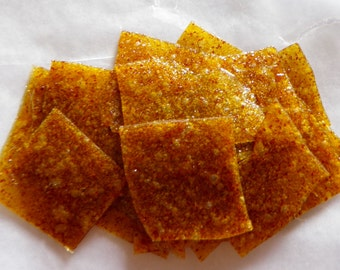 Gingered Butternut Squash Honey Fruit Leather Bites - 2 oz. - GREAT for you AND your dog