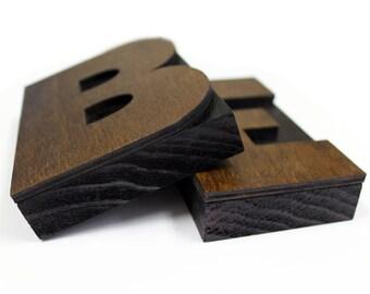 5 Inch Wooden Letter Press Block