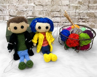 Amigurumi Wybie Doll : The other wybie doll crochet pattern pdf only