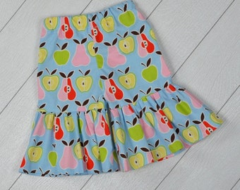 Toddler Ruffle Pants Apples and Pears 18/24 months