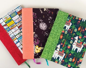 Covered Notebook // Journal // Journal Cover // Composition Notebook Cover //